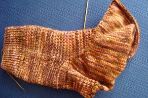 My faceted Rib Sock