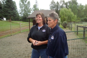 Deb and Nancy of Moonshadow Farm